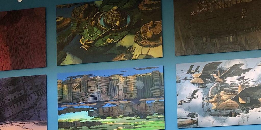 ジブリの大博覧会ロビー展示