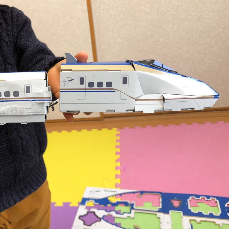 hacomo ハッピーレール E7系 北陸新幹線 完成品
